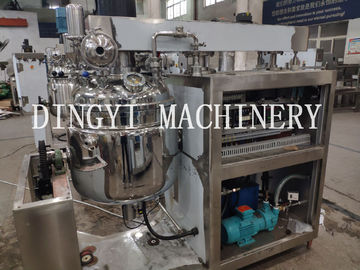 SS316L Cosmetic Mixer Equipment , Large Capacity Vacuum Mixer Homogenizer