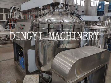 Electrical Heating Vacuum Homogenizer Mixer With HMI Control 350L Capacity