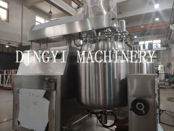 Continuous Operating Cosmetic Cream Mixing Machine / Industrial Emulsifying Mixer